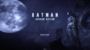 Arkham Asylum main title